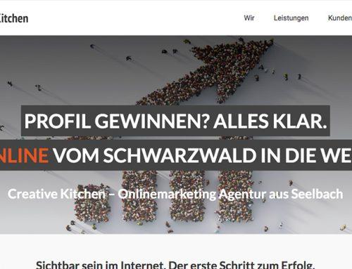 Webseitentexte für Onlinemarketing Agentur Seelbach