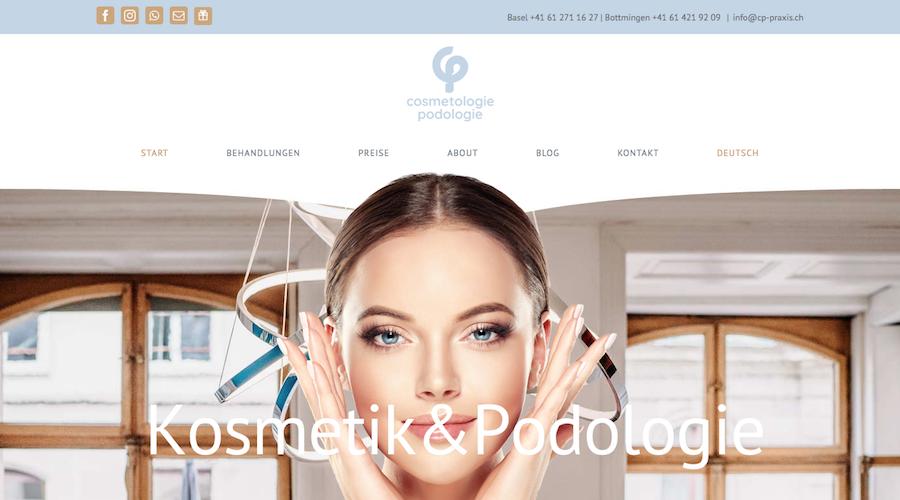 Webtext CP-Kosmetikstudio