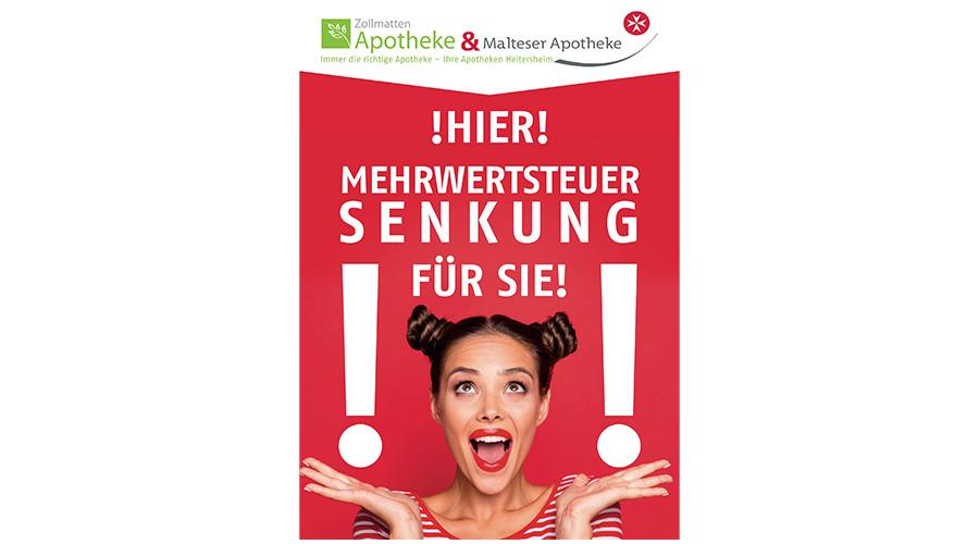 Plakat Malteser Apotheke