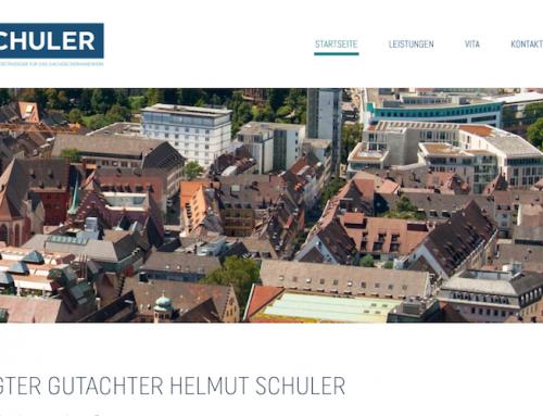 Website-Text für Schuler Sachverständigen GmbH, Kirchzarten