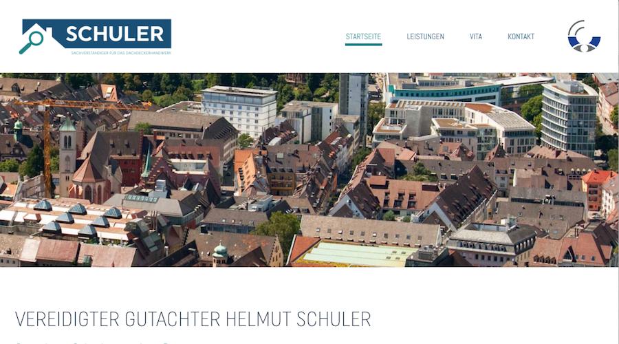 Website Texte Schuler Sachverständiger