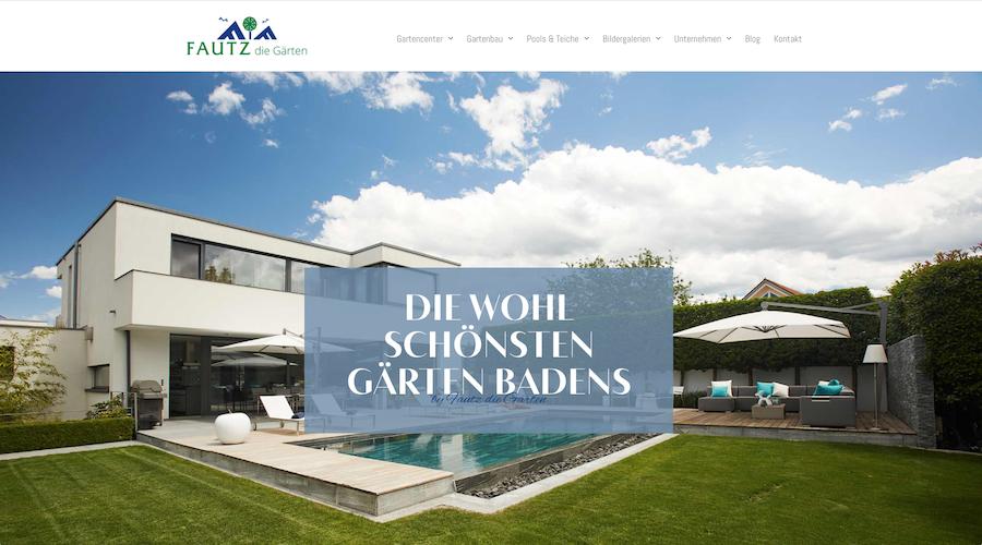 Websitetexte Gartenbau Freiburg