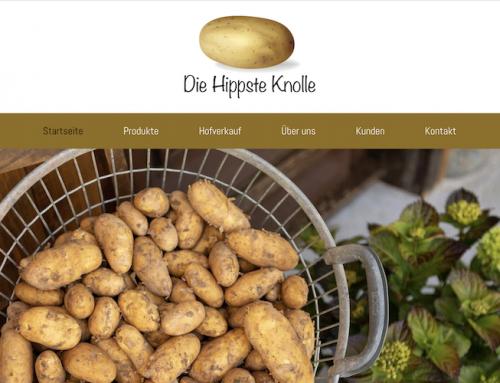 Webseitentexte für Landwirtschaftsbetrieb / Kartoffelanbau in Neuenburg am Rhein