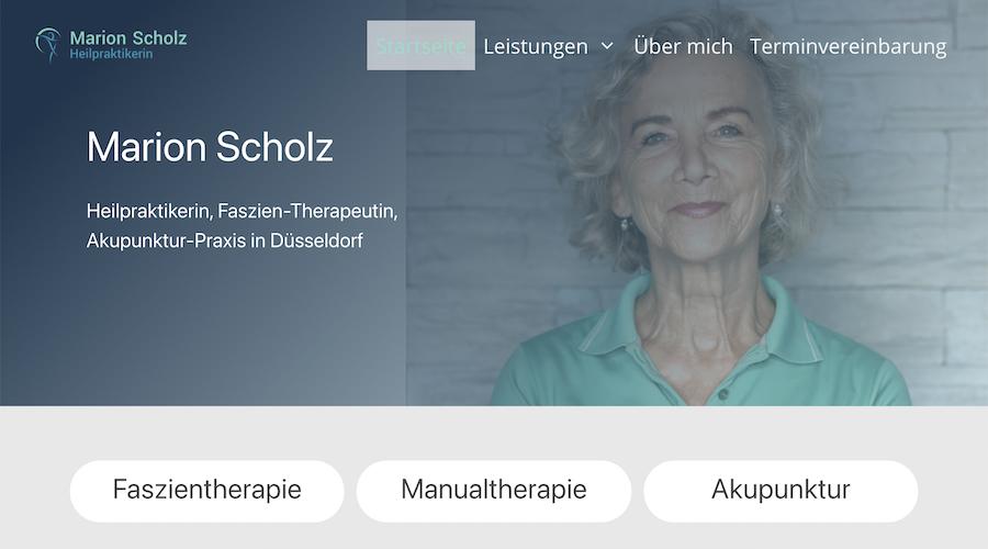 Webtext Marion Scholz
